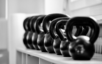 Shelf,russian dumbbells