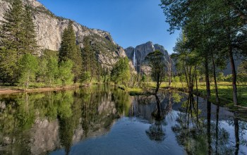 california,панорамма,yosemite national park,sierra nevada mountains