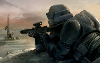 Scout trooper,sniper