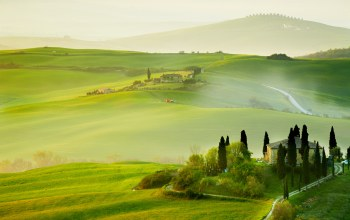 landscape,trees,countryside,san quirico´orcia ,sky,Tuscany,summer,italy