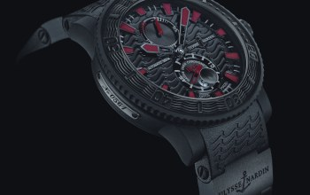 Watch,maison horlogere,ulysse nardin,black sea