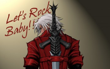 baby,lets rock,dmc 1,Devil may cry 1,dante vs dante
