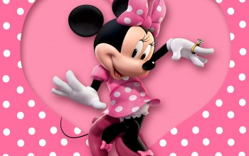 polka dots,Minnie,cartoon,mouse,heart