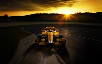 Race,Sunset,Speed,Track,yellow,bolide