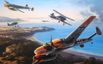 ww2,gladiator mk2,Messerschmitt bf 110,battle for malta,siege of malta,war,aviation