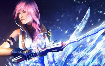 farron,mathia arkoniel,long hair,girl,lightning,Final fantasy xiii