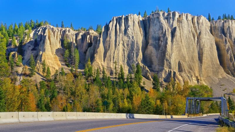 Dutch creek hoodoos,canada,британская колумбия,british columbia,Канада