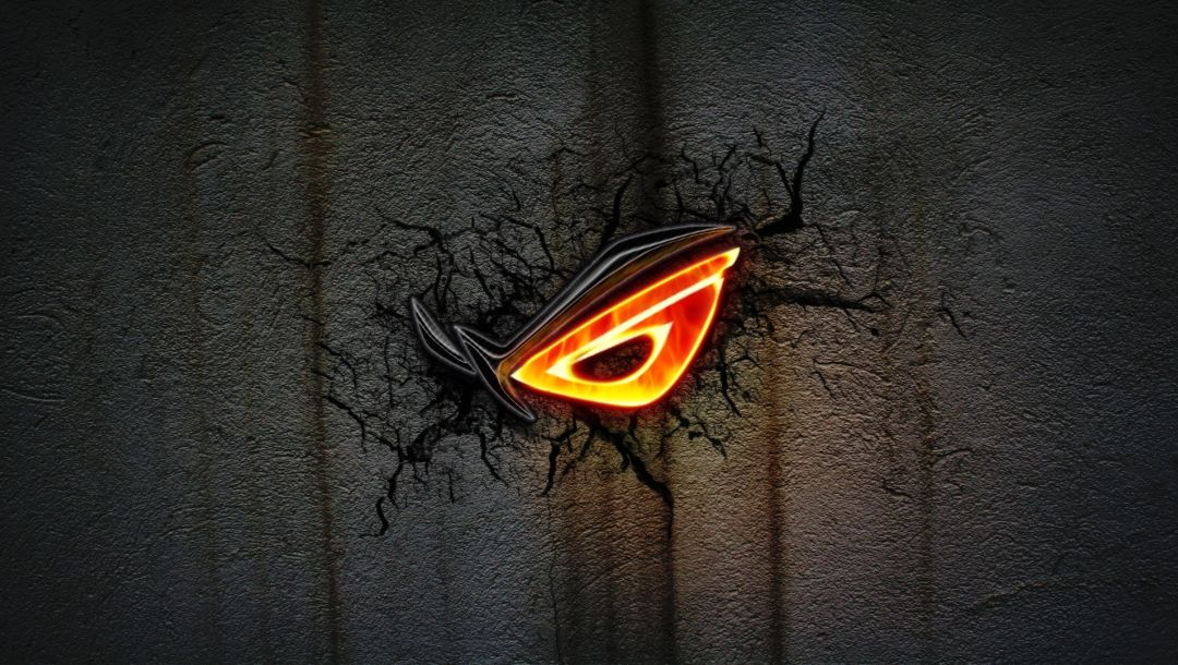 wallpaper,cracks,dark,Rog