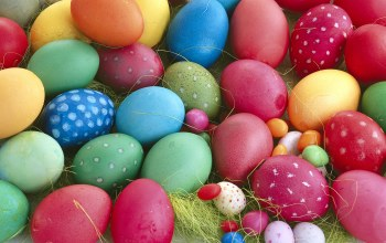 Easter,яйца,Весна,eggs,spring,multi-colored
