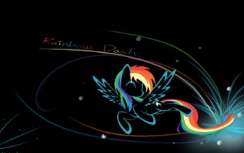 name,dash,rainbow,mlp,чёрный,My little pony,rainbow dash