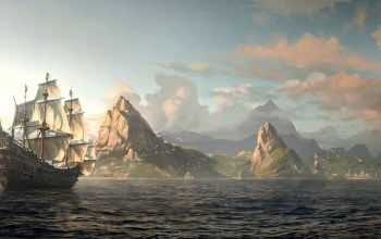 пират,Assassins creed iv: black flag,эдвард кенуэй