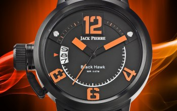 orange,Watch,Jack pierre