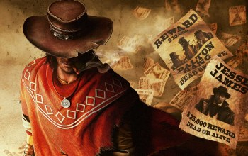 cowboy,ковбой,сигара,Call of juarez: the gunslinger,медальон