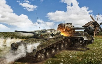 wot, ис-3,wargaming.net,pzkpfw vib tiger ii,World of tanks,кт