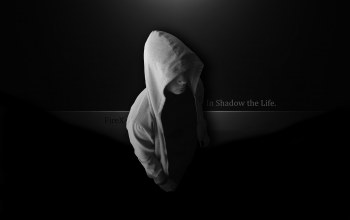 Firex,Человек,in shadow the life,капюшон,темнота