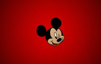 mickey,paper,cartoon,simple,Red,mouse,texture