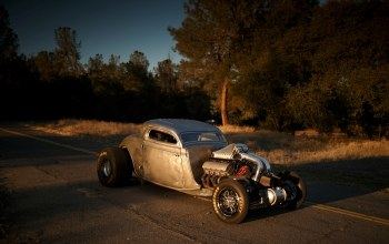 v8,1934,drag car,big block,twin turbo