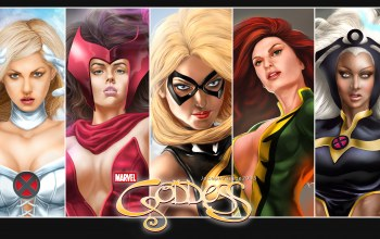 warbird,jean grey-summers,scarlet witch,феникс,ms marvel,emma frost,storm