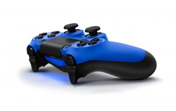 playstation,ps4,синий,blue,sony,геймпад,dualshock 4
