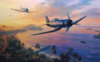 ww2,drawing,pacific war,aviation,Airplane,war,dogfight,painting,aircraft,F4u corsair