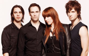 американская рок-группа,lzzy hale,joe hottinger,josh smith,Halestorm