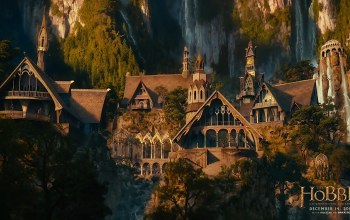 an unexpected journey,rivendell,The hobbit