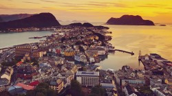 over alesund,view,Норвегия,город,Elevated,sunnmre,mre og romsdal,norway,вид