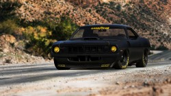 muscle car,black,hugo silva,hemi,cuda,плимут,Plymouth