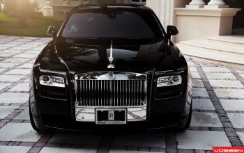 Rolls royce,передок,Vossen wheels,ghost