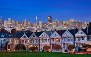 san francisco,california,alamo square,United states