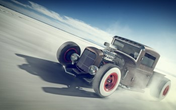 rat rod,aesthetics,Speed,desert,wheel rims white,rust