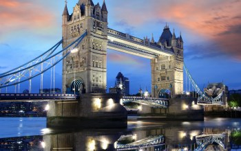england,uk,tower bridge,europe,capital,london,evening,thames