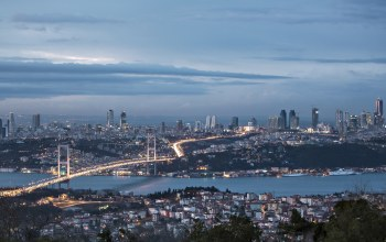 bosphorus bridge,sea of marmara,clouds,turkey,Istanbul,sky