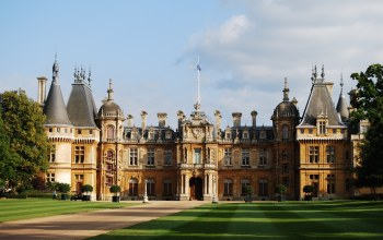 england,manor house,palace,waddesdon manor,buckinghamshire,the rothschild taste