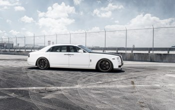 тюнинг,rolls-royce,car,ghost,White