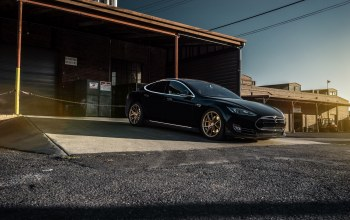 model s,car,california,p85,forged