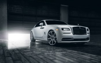 car,class,premium,rolls-royce,White,wheels,vellano,wraith