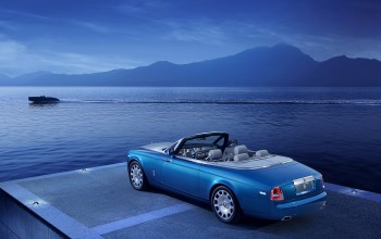 катер,waterspeed collection,Rolls-royce phantom,car,drophead