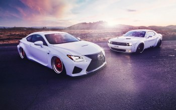 lexus,sport,Sunset,liberty,White,rc350,challenger,dodge,walk,cars,stance