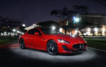 maserati,light,street,Red,mc stradale,granturismo