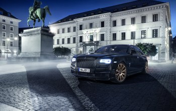 rolls-royce,spofec black one,2015,ghost