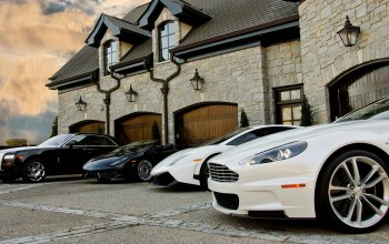 rolls-roys,Lamborghini, superleggera,house,ghost,White