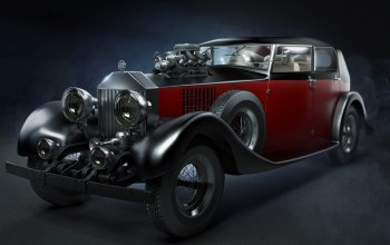 классика,old,автомобиль,roadster,car,Rolls royce