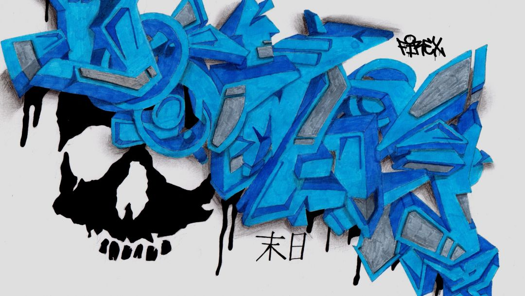 graffiti,Firex,sketch,Doomsday