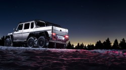 darkness,night,beautiful,6x6,shadow,Sun,g63,amg,background,snow,mercedes-benz,awesome