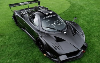r,carbon. supercar,grass,пагани,zonda