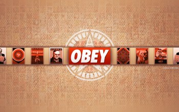 обои,obey,Red