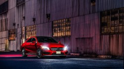 nigth,car,ligth,Front,Red,mercedes-benz,cla45,amg