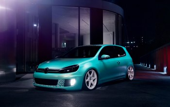 gti,dapper,low,stance,Volkswagen,blue,6