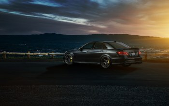 amg s,rear,sonic,ligth,summer,e63,nigth,motorsport,california,sky